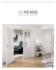 HGM PUR WEISS - Holz Maassen