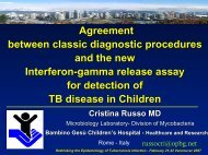 Agreement between classic diagnostic procedures and the new ...