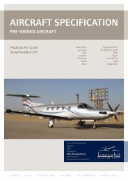 Spec Sheet - ExecuJet Aviation Group