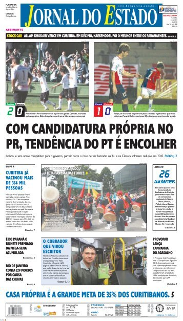casa própria é a grande meta de 35% dos curitibanos. 5 - Bem Paraná