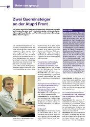 mit Denzler & Wyss, LU/BE 2006 - jak.ch