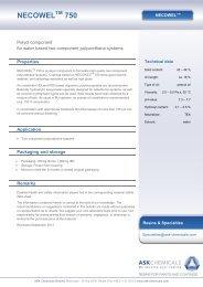 NECOWEL 750 - ASK Chemicals