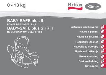 BABY-SAFE plus II - BRITAX RÖMER