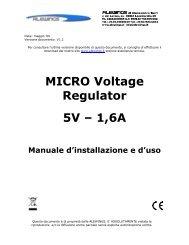 MICRO Voltage Regulator 5V – 1,6A - 8Fly.It
