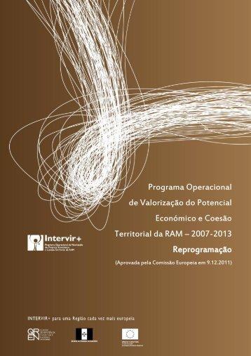 Versão integral da Reprogramação do Programa Intervir+ aprovada ...