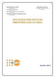 ADS Fistules au mali - Campaign to End Fistula