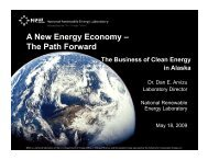 A New Energy Economy – The Path Forward - Renewable Energy ...