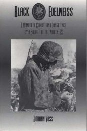 Black Edelweiss - A Memoir Of Combat And Conscience