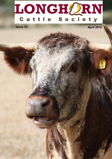 April 2012 - Longhorn Cattle Society