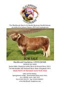 April 2012 - Longhorn Cattle Society - Page 2