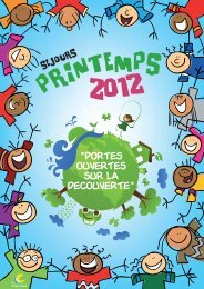 SEJOURS PRINTEMPS 2012 - Courneuve