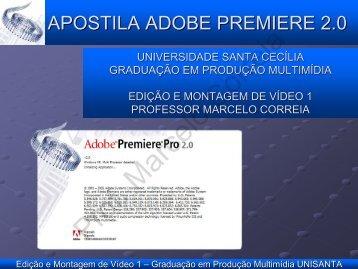 Settings – Criação de Novo Projeto - Universidade Santa Cecília