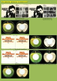 PAUL McCARTNEY - applerecords.nl