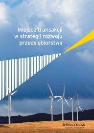 Miejsce transakcji w strategii rozwoju ... - Ernst & Young
