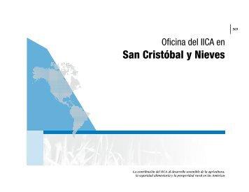 San Cristóbal y Nieves - Instituto Interamericano de Cooperación ...
