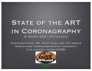 D. Mawet, ESO / JPL-Caltech Contributions: JPL HCIT team, and the ...
