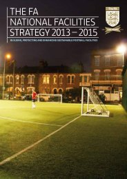 National Facilities Strategy - The Football Association