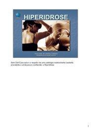 HIPERIDROSE - Escola Médica Virtual da Faculdade de Medicina ...