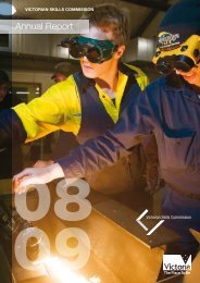 Victorian Skills Commission Annual Report 2008-09 Part 1 of 2