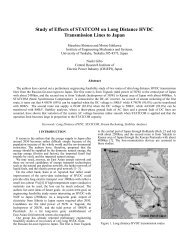 Study of Effects of STATCOM on Long Distance HVDC Transmission ...