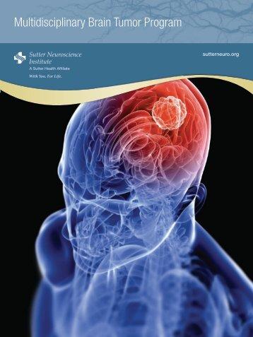 Brain Tumor Program - Sutter Health Sacramento Sierra Region