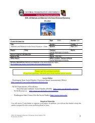 topics - Central Washington University