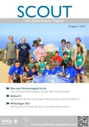 SCOUT - Das Magazin 01/2012 - DPSG Pfadfinder Edelweiss