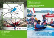 The Mill Adventure Base - Nottinghamshire County Council