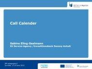 Call Calender