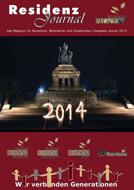 Ausgabe Januar 2014   Seite 1 - Seniorenresidenz Moseltal