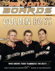 WHO KNOWS THEIR TEAMMATES THE BEST? - Anaheim Ducks