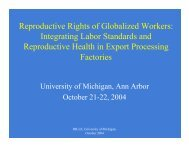 Overview Presentation - Reproductive Health of Global Supply ...