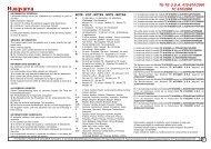 Parts Catalogue 2000 TC 610 - Husqvarna