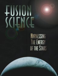 Fusion Science; Harnessing the Energy of the Stars - General ...