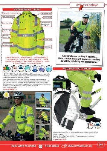 CYCLE CLOTHING 261 - Niton 999 Equipment