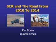 SCR and The Road From 2010 To 2014