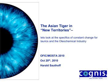 """The Asian Tiger in """"New Territories""""– - MOSTA"""