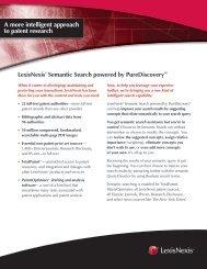 LexisNexis® Semantic Search