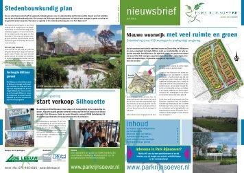 1 Nieuwsbrief Park Rijnsoever uitgave juni 2010 - Gemeente Katwijk