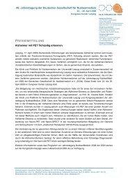 PDF-Dokument - Deutsche Gesellschaft für Nuklearmedizin