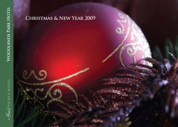 Christmas & New Year 2009 - Hand Picked Hotels
