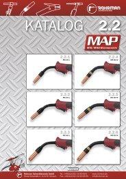 MIG/MAG-Brennerserie MAP - Rohrman Schweißtechnik