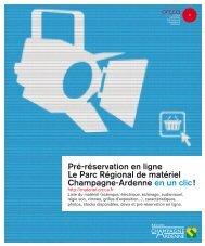Télécharger le flyer du Parc Régional de matériel - ORCCA