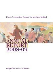 43306 PPSNI ANN REP WEB - Public Prosecution Service