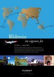 5. April 2011 Weltreise im eigenen Jet - Active Travel