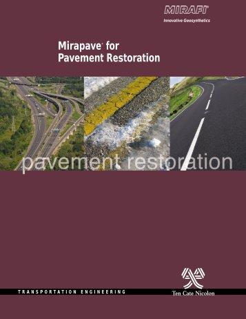 pavement restoration