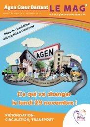 Journal de projet n°2 - Ville d'Agen