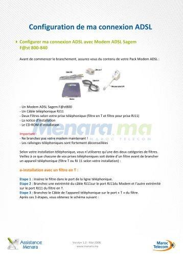 MENARA XP SAGEM SOUS 800 WINDOWS TÉLÉCHARGER FAST ADSL