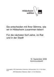 Für die nächsten fünf Jahre, im Rat und in der Stadt! - SPD ...