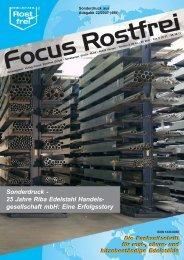 Riba Edelstahl Handelsgesellschaft mbH - Focus Rostfrei